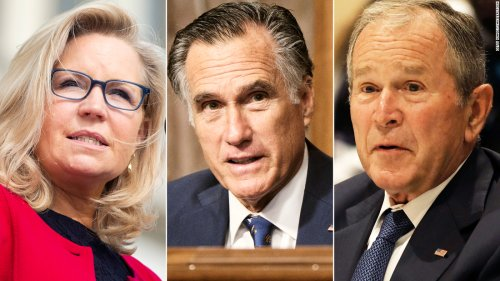 Opinion: I'm a proud progressive who thinks Liz Cheney, Mitt Romney and George W. Bush are true patriots
