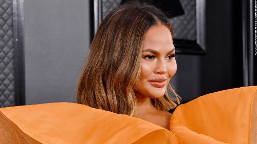 Chrissy Teigen lost a tooth in a Fruit Roll-Up at the inauguration