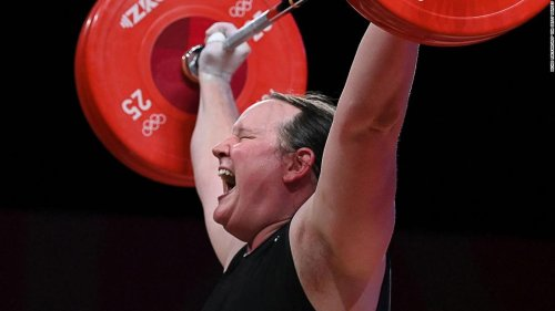 Weightlifter Laurel Hubbard becomes first out transgender woman to compete at the Olympics, fails to register a lift