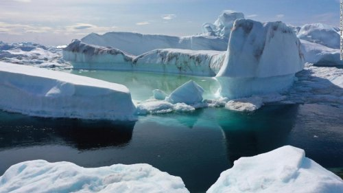 Greenland's ice sheet just lost 11 billion tons of ice -- in one day | CNN