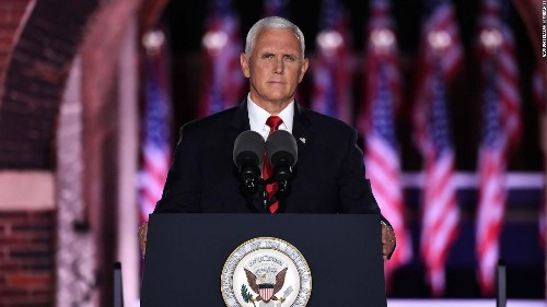 Mike Pence sides with law enforcement as sports stars protest police brutality