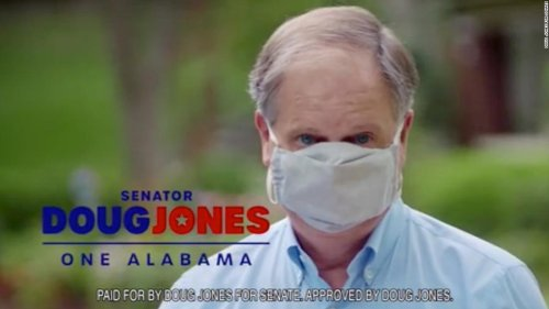 The politics of wearing a mask hits US Senate race in Alabama