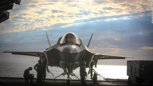 US warplanes fly first combat missions off foreign aircraft carrier since World War II