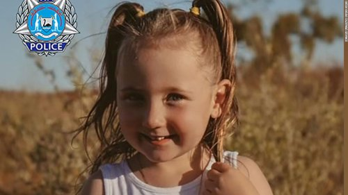 Australian police search for 4-year-old girl missing from tent