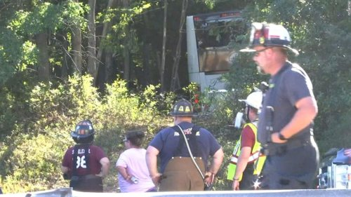 6 people are in critical condition and 24 others injured after a bus crash in Pennsylvania