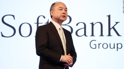 SoftBank shares dive on reports that Masa Son has been betting big on tech stocks