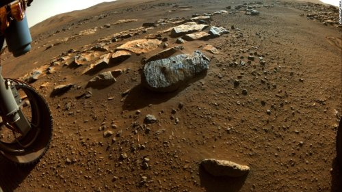 Perseverance's Martian rock samples may contain ancient water bubbles