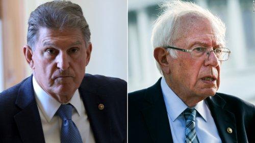 Analysis: The fight between Joe Manchin and Bernie Sanders over the Biden agenda is getting very, very personal