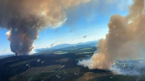 Unprecedented heat, hundreds dead and a town destroyed. Climate change is frying the Northern Hemisphere