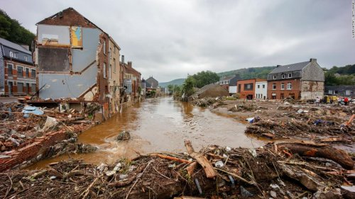 Enormous scale of destruction is revealed as water subsides after historic western Europe flooding