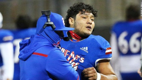Texas high school football player charged with assault after tackling referee during game, authorities say
