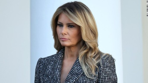 The worst final popularity rating ever for a first lady belongs to Melania Trump