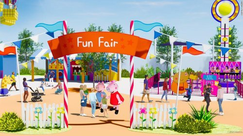 Peppa Pig is getting her own Orlando-area theme park, complete with muddy puddles