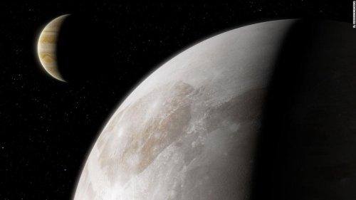 Hubble finds water vapor around Jupiter's moon Ganymede