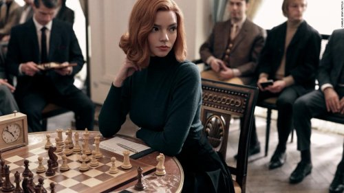 """""""The Queen's Gambit"""" doesn't make all the right moves, but Anya Taylor-Joy does"""
