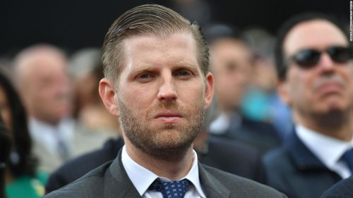 Analysis: Eric Trump wants you to know he is heartbroken