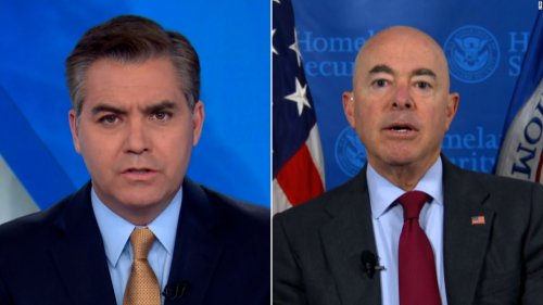 'Is there a contradiction?': Acosta presses DHS secretary about policy
