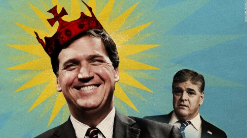 Sean Hannity used to rule Fox. But in the post-Trump era, Tucker Carlson is king