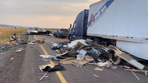 8 people are dead and several more injured after sandstorm leads to 20 vehicle crash in Utah