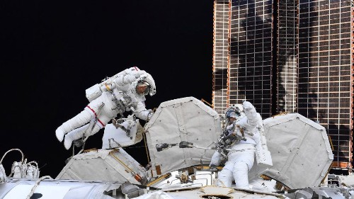 Astronauts prepare for 2 upcoming spacewalks