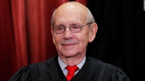 Democratic congressman calls on Justice Stephen Breyer to retire - CNN Politics