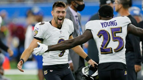 Baltimore Ravens' Justin Tucker sets NFL-record with monstrous 66-yard game-winning field goal