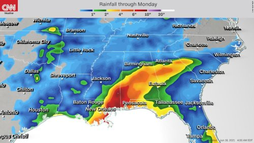 Parts of the Gulf Coast are already feeling storm conditions that have 7 million under warnings