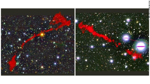 Newly discovered giant galaxies dwarf the Milky Way