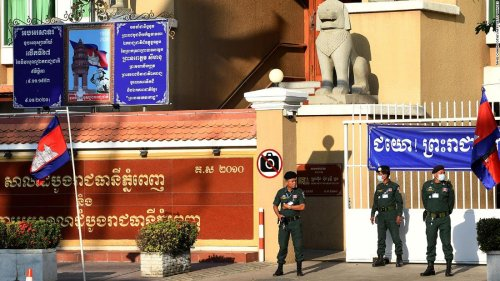 Cambodia charges environmentalists with insulting king