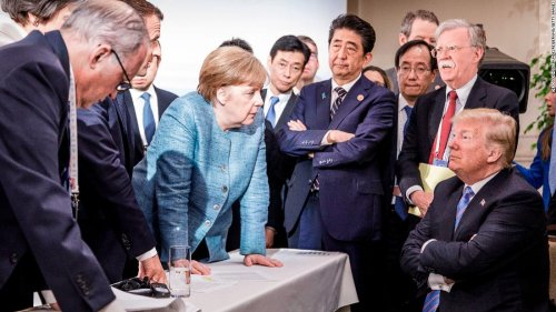 Merkel biographer explains why iconic picture is so important