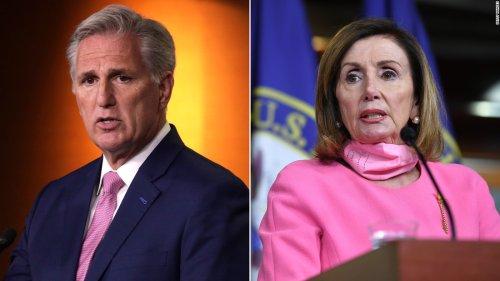 Pelosi calls McCarthy 'a moron' for his mask mandate criticism