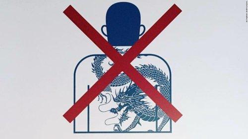 Did Japan just ban tattoos?