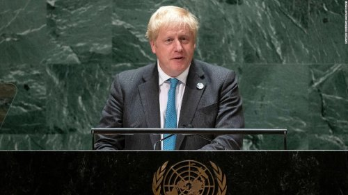 'Grow up': Boris Johnson urges the world to face climate change in UNGA speech