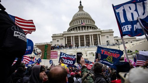 Some arrested in Capitol siege didn't vote in 2020