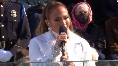 See Jennifer Lopez perform at Biden's inauguration