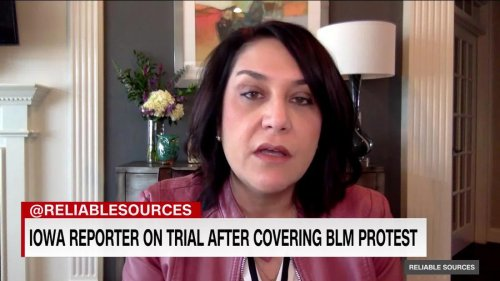 Iowa reporter is going on trial after covering BLM protest