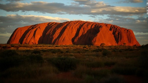 Australia asks Google to remove images from top of sacred site Uluru