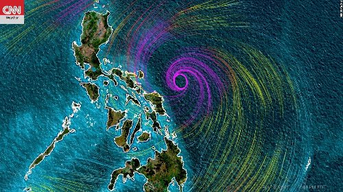 Typhoon Surigae is rapidly strengthening and could move dangerously close to the Philippines
