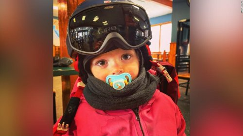 Dad mics up his skiing toddler, captures her adorable pep talks