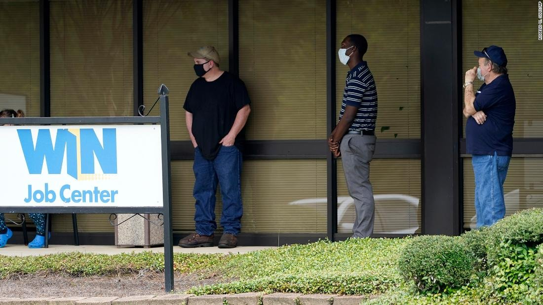 Another 884,000 Americans filed for unemployment benefits last week