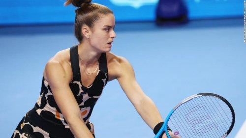 Greek Maria Sakkari qualifies for season-ending WTA Finals