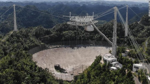 Arecibo Observatory collapses ahead of planned demolition