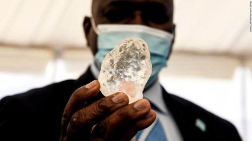 One of the world's largest diamonds has been unearthed in Botswana