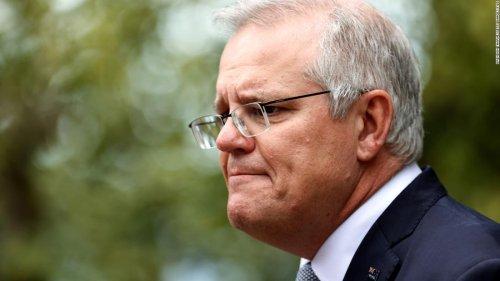 Australia PM announces net-zero pledge, but no new emissions cuts ahead of COP26