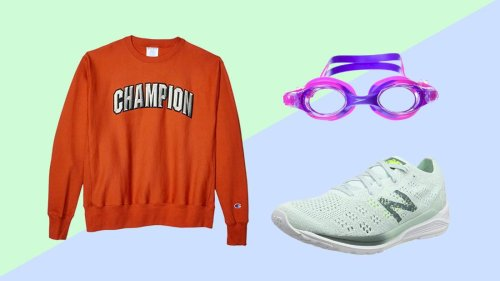 Shop one-day deals on Champion, New Balance and Speedo at Amazon's Big Style Sale