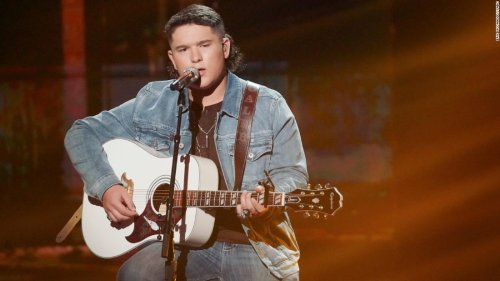 'American Idol' finalist Caleb Kennedy out after white hood video surfaces