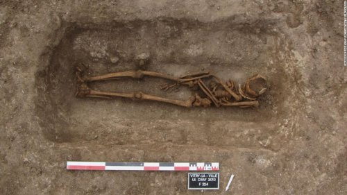 Medieval Europeans regularly reopened graves — and not to rob them
