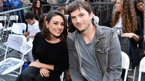 Ashton Kutcher and Mila Kunis say they don't believe in bathing their kids or themselves too much | CNN