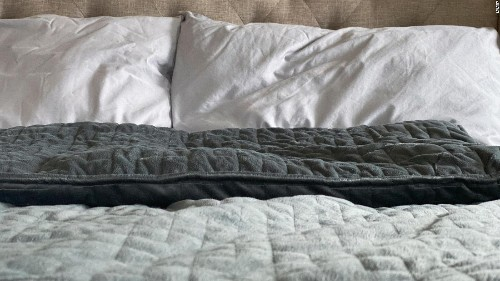 Anxiety robbing your sleep? A weighted blanket may help