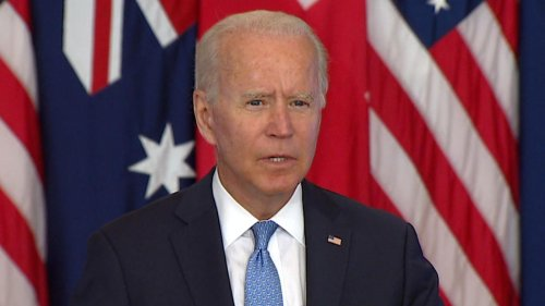 Biden and UK to help Australia acquire nuclear-powered submarines in new pushback on China